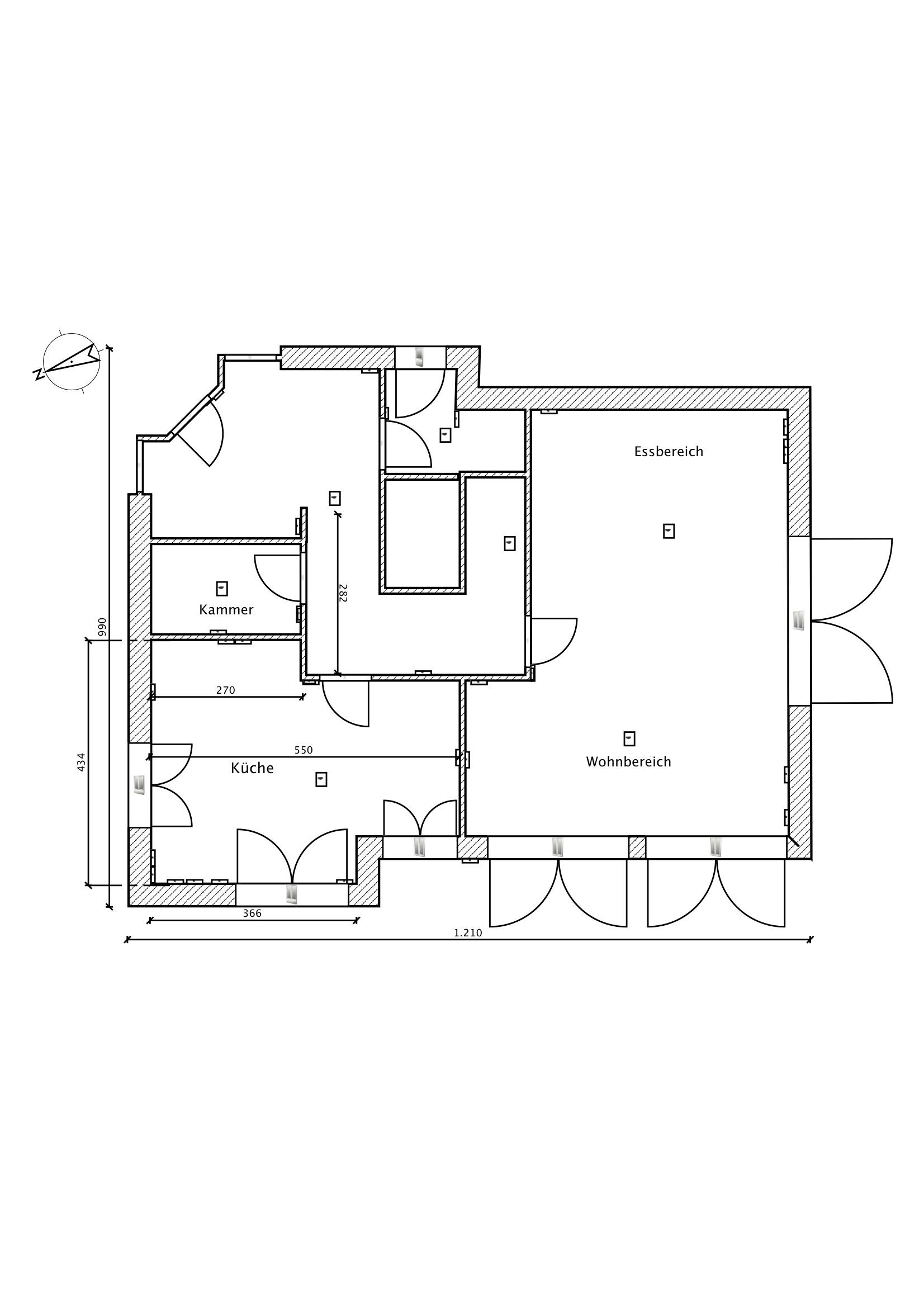 freie Küchenplanung beim Neubau | Küchenausstattung Forum | Chefkoch.de